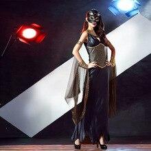 Disfraces de Halloween Para Las Mujeres Sexy Griego Reina Cosplay Representación Escénica Papel Vikingos X Traje