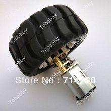 Envío gratis 6 V N20 de Metal DC motorreductor kit con rueda y N20 Motor ( 2 unids/pack )