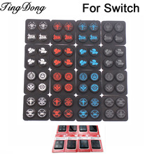 Skin Cover Rocker-Cap Thumb-Grip-Stick Switch-Game Nintend-Switch Silicone for NS 4-In-1--1set