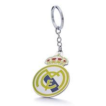 Real Madrid C.F Football Club Soccer Team Logo Metal Pendant Keychain For Fans
