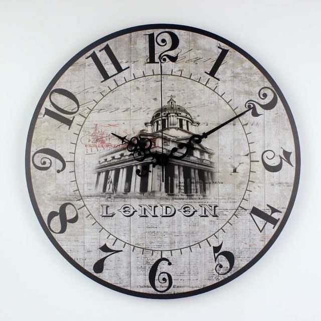 Europe Style Living Room Wall Decoration Clocks More Quite Antique
