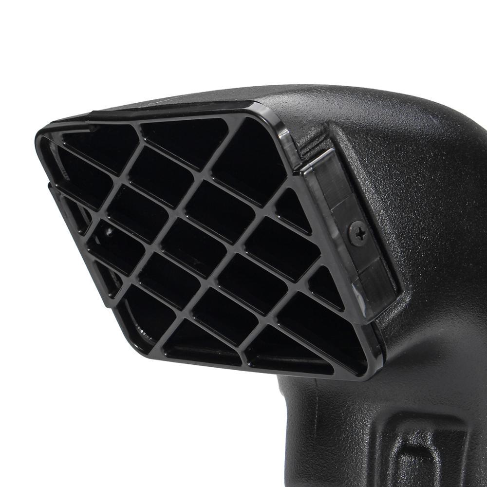 AIR RAM SNORKEL HEAD TOP 3.5/'/' FITS for TOYOTA LANDCRUISER VDJ76//VDJ78//VDJ79