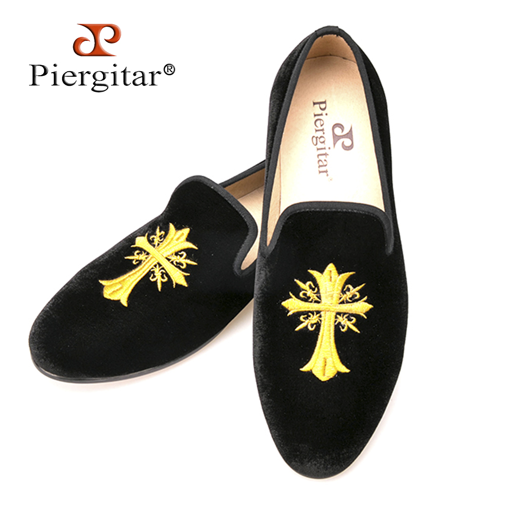 Exquisite Embroidery patterns Men Velvet Shoes Men Wedding and Party Loafers Plus Size Men Flats Size US 6-14 Free shipping men loafers paint and rivet design simple eye catching is your good choice in party time wedding and party shoes men flats