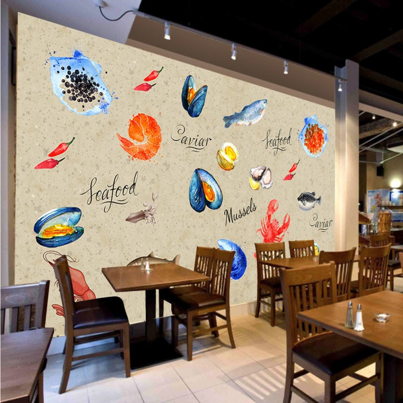 Seafood restaurant decor promotion shop for promotional