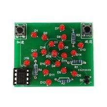 DC 5V DIY Kit Electronic Windmill Funny DIY PCB Board and Parts