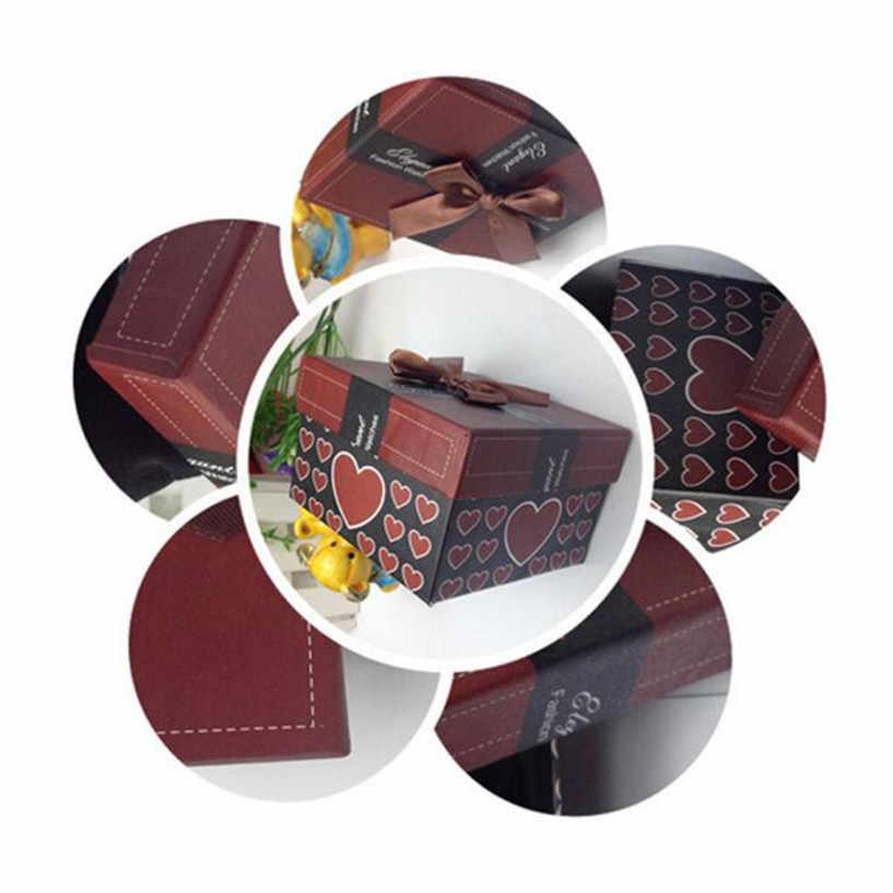 Muhteşem moda dayanıklı mevcut hediye kutusu kasa bilezik bileklik takı saat kutusu toptan AUG29