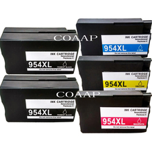 5 Compatible hp 954 954xl Replacement ink cartridge for OfficeJet Pro 7740 8210 8710 8715 8716 8720 8725 8730 8740 All-in-One стоимость