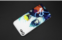 Hokage Naruto Soft Styles TPU Silicone Case Cover for iPhone