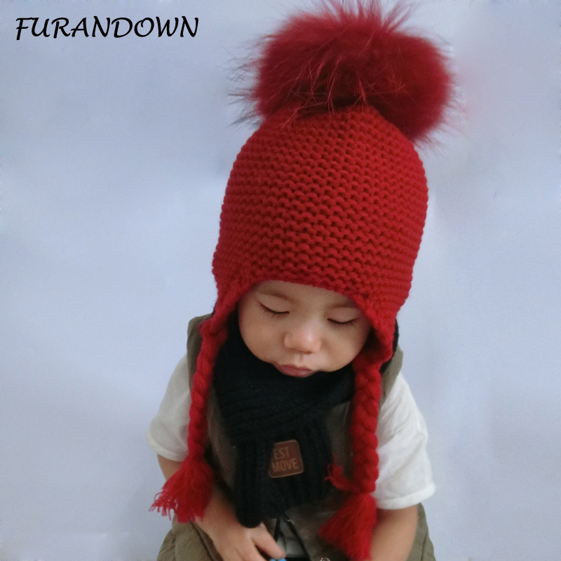 Boy's Scarves Boy's Accessories Fashion Baby Kids Winter Autumn Warm Hat Earflap Cap Wit Stars Pattern 100% Original
