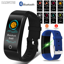 LIGE Fitness Tracker Smart Bracelet Men Women Real-Time Heart Rate Monitor Activity Monitor Smart Sport Watch For IOS Android недорго, оригинальная цена