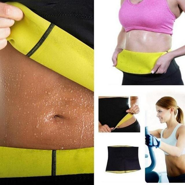 Fitness Women New Slimming Waist Belts Neoprene Body Shaper Training Corsets Cincher Trainer Promote Sweat Bodysuit 3