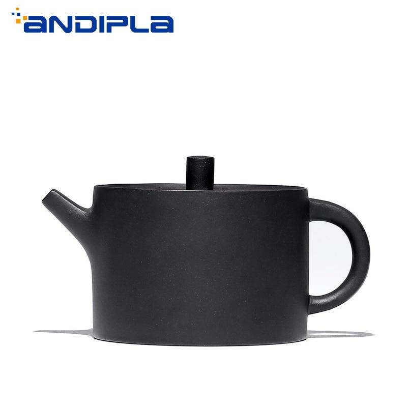 340cc Authentique théière de yixing Fu Yun Pot Maître Main Chinois Sain Violet Argile Kung Fu service à thé Noir Boue théière machine à thé