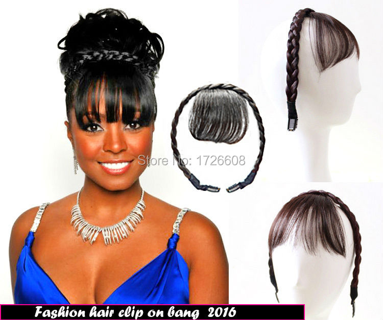 New Hair Accessories Hairstyles Braids With Bangs Headband