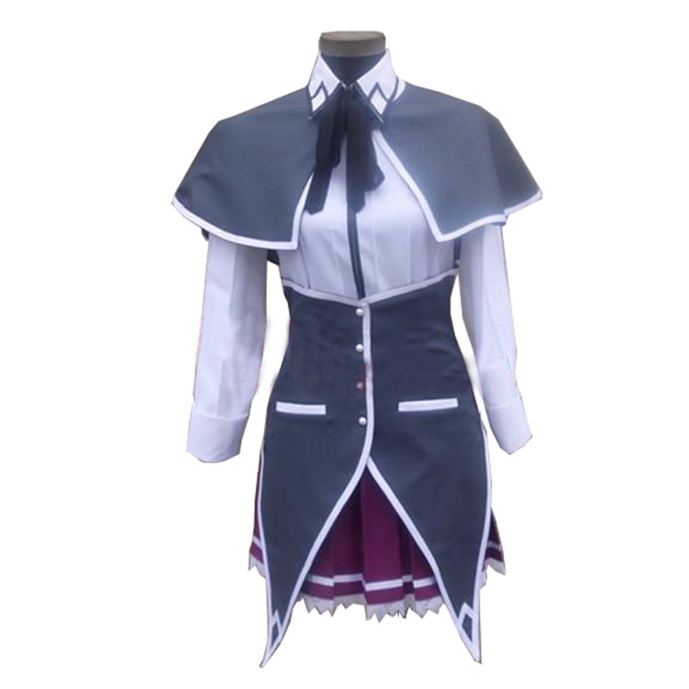 2018 საშუალო სკოლა DxD Rias Gremory Cosplay Costume Uniform Full Set