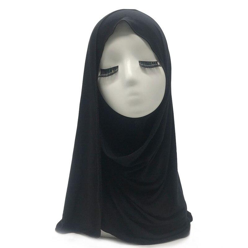 1PCS Soft basic cotton jersey 28 colors fashion plain solid viscose shawl Muslim echarpe women scarf hijabs bandana hot sale