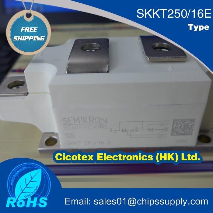MODULE SKKT250/16E Modules de Diode Thyristor SKKT250/16 IGBT SKKT 250/16 E SKKT250-16E