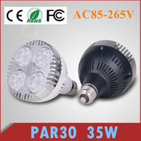 CREE Chips par30 35W E27 B22 LED Spotlight Light Bulb Lamp Cool White/Warm White High Brightness Free shipping