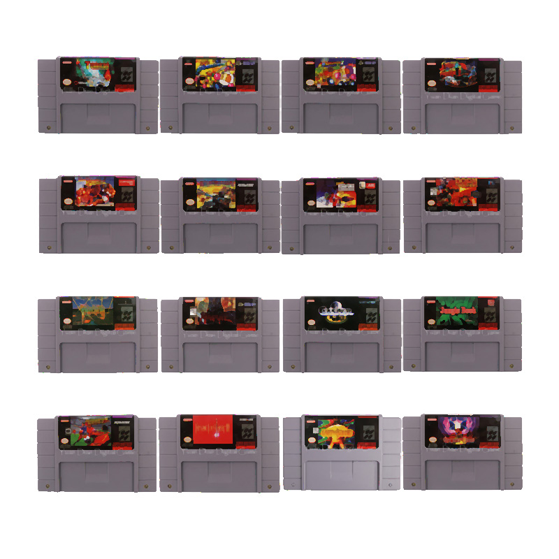 16Bit NTSC Earthbound Video Game Cartridge Console Card English Language US Version(Can Save)