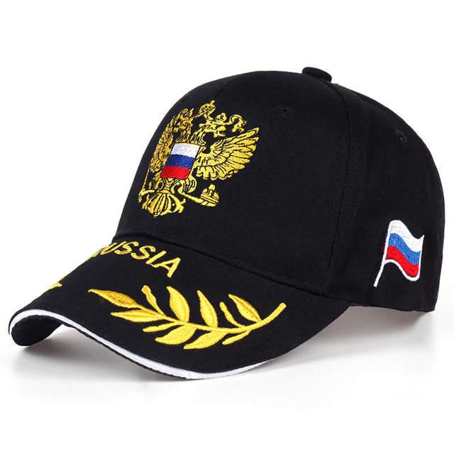 2017 Nova Moda Cap Russa Sochi 2017 Rússia Bandeira Snapback do Boné de  Beisebol Cap Sunbonnet d5e4f48d425