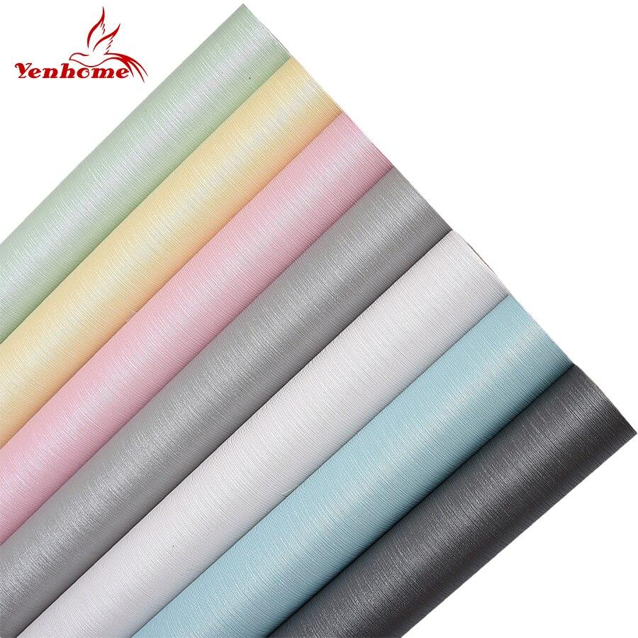 3m 5m 10 vinyl self adhesive wallpaper waterproof for Waterproof wallpaper for walls