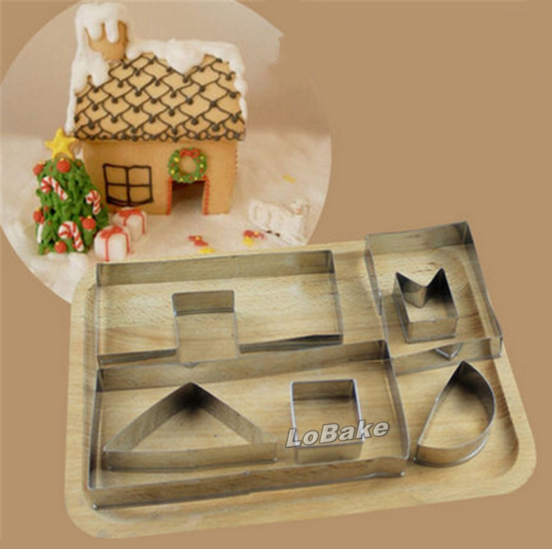 Popular chocolate house mold buy cheap chocolate house for Kitchen set cake