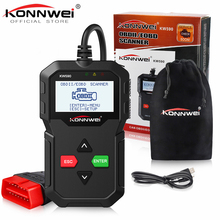 Nieuwe KONNWEI KW590 OBD2 Code Reader Automotive Scanner Auto Reparatie Diagnostic Tool OBD II OBD 2 Scanner Beter ELM327 in russische