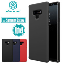 Nillkin flex caso puro para samsung galaxy note 9 macio silicone líquido borracha à prova de choque casos de telefone para samsung nota 9 capa