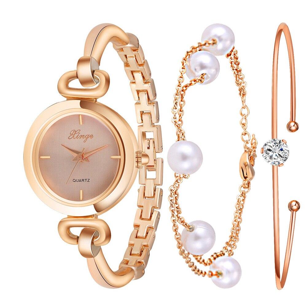 ФОТО 2017 Brand Watches Women Luxury Fashion Rose Gold Crystal Bangle Bracelet Watch Women Dress Clock Female Girls Wristwatch