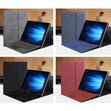 2019 New Fashion Unisex Tablet Sleeve Flip Stand Cover For Microsoft Surface Pro 3 4 5 6 12 12.3 inch Case Women Men Sleeve Bag