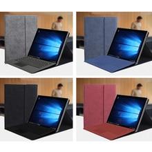 2019 nouvelle mode unisexe tablette manchon support rabattable couverture pour Microsoft Surface Pro 3 4 5 6 12 12.3 pouces étui femmes hommes manchon sac