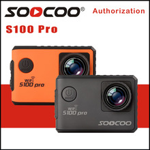 Action Kamera Ultra HD 4 Karat S100PRO WiFi gyrometer Bildstabilisierung NTK96660 Gehen Wasserdichte Sport DV SOOCOO S100 Pro Kamera
