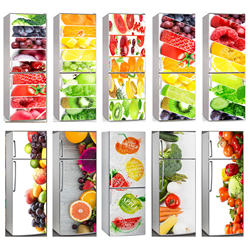 Details about  /Home Fridge Self Adhesive Removable Sticker Food Fruits and vegetables