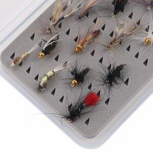Maximumcatch 2 шт. прозрачная водонепроницаемая рыболовная коробка, маленький размер, держатели для крючков, тонкая пластиковая коробка для мух