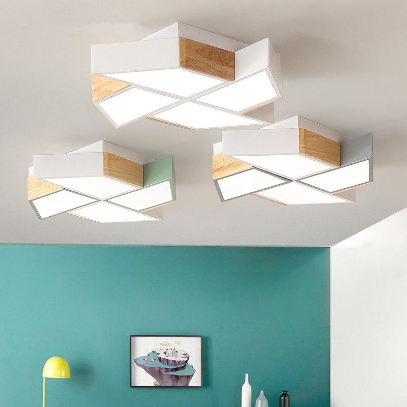 220V LED Ceiling Lights In Windmill Shape For Living Room Lamparas de techo Bedroom Boys Room Ceiling lamp Rooms Luminare
