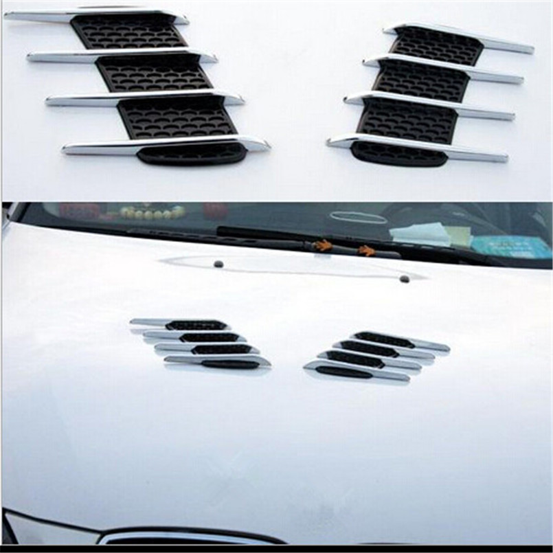 Cotochsun Universal Abs Chrome Car Styling Stickers