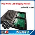 Светодиодный дисплей TEEHO  1 м x 2 м  белый цвет  36 шт.  белые светодиодные модули p10 + 1 контрольная карта + 5 шт.  источник питания
