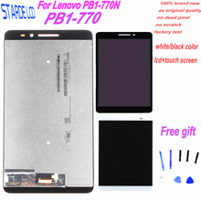 цена на Starde For Lenovo Phab Plus PB1-770N PB1-770M PB1-770 LCD Display Touch Panel Screen Digitizer Assembly with Free Tools