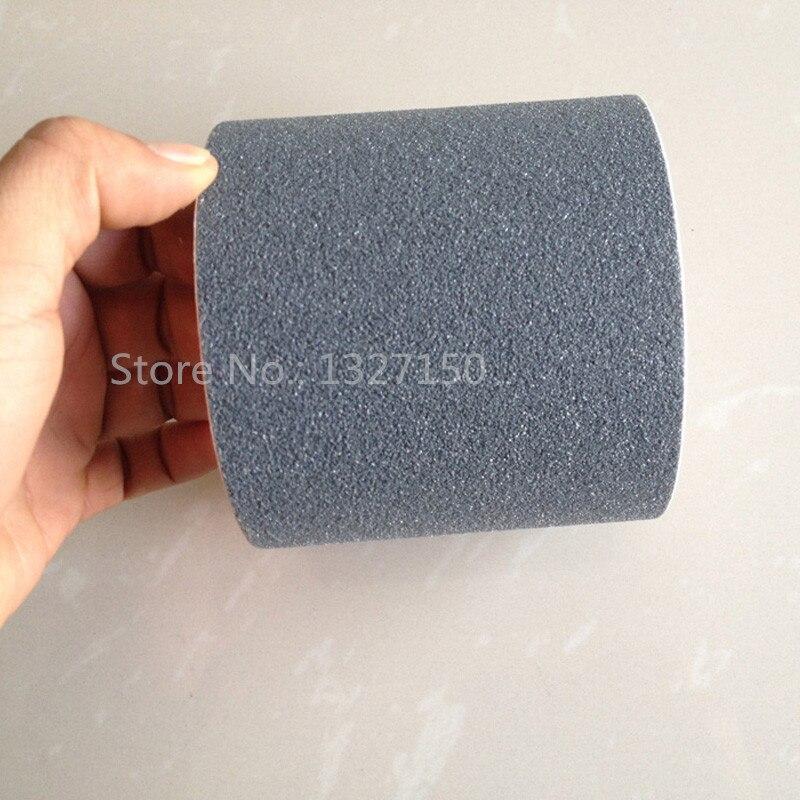 "1/""x16.4/' Clear No Sand Anti Slip Self Adhesive Tape Sticker for Floor Bathroom"