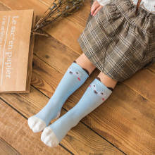 Boy Socks leg warm  Autumn New Stereo Ears Kids Socks Cute Baby Cartoon Cotton duck print Socks knee high warm sock-in Socks from Mother & Kids on expressjinni