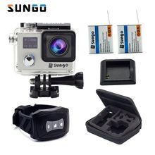 """SUNGO Action Kamera 4 karat wasserdichte Ultra HD 1080 P/30fps Fern WiFi 2,0 """"170D unterwasser Sport cam helm Novatek camcorder"""