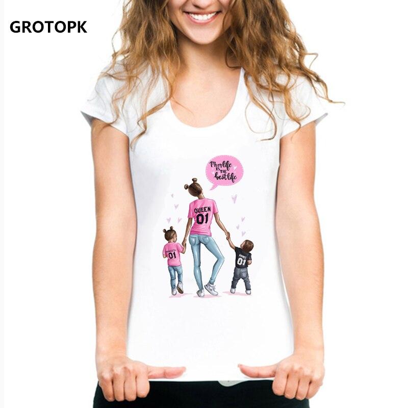 Lady T-Shirt Mama gut alles Gut Familie Liebe Heimat,