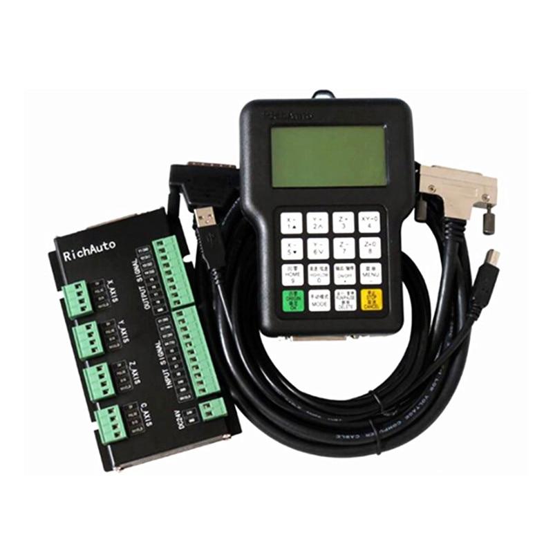 CNC controller DSP A11S RichAuto Controller A11 remote For DIY CNC Router original richauto dsp a11s or a11e controller for cnc router 3 axis cnc router control system