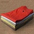 Plus Size Calças Dos Homens De Linho Vermelho 2016 Corpo Inteiro Regular Fit Verão Respirável Confortável E Casual Vestido Calças Calças De Linho Masculino