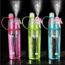 BXLYY спрей пластиковая Спортивная бутылка для воды 600 мл Студенческая спортивная бутылка для воды для занятий спортом на открытом воздухе легкая для переноски Спортивная шейкер бутылка для воды. T