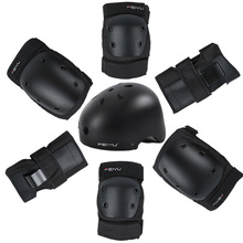 Protective Gear Set Skating Helmet Knee Pads Elbow Pads Wrist Protector for Kids Adults Cycling Roller Skating Rock Climbing