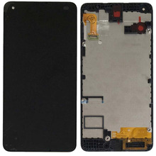For Nokia Microsoft lumia 550 LCD Display Touch Screen Digitizer Assembly Frame