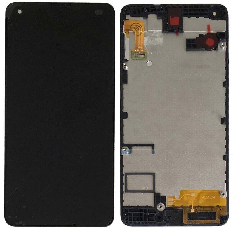 Prix pour Pour Nokia Microsoft lumia 550 LCD Display + Écran Tactile Digitizer Assemblée + Cadre