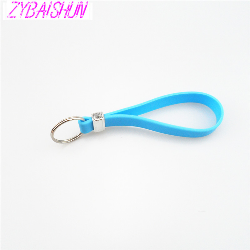 New Silicone Key Long Bracelet Key Spoon Portable <font><b>Keychain</b></font> for Land <font><b>Rover</b></font> <font><b>Range</b></font> <font><b>Rover</b></font>/<font><b>Evoque</b></font>/Freelander/Discovery image