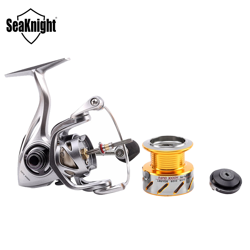 SeaKnight Rapid 3000 h/4000 h/5000/6000 антикоррозионные морской рыбалки катушка 11BB 6.2: 1/4. 7:1 8-15 кг ловли карпа прялка