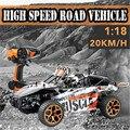 1/18 2.4 Г 4WD High Speed Радио Дистанционного управления RC РТР Гонки багги Автомобилей Off Road